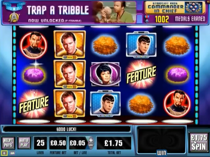 Star Trek The Trouble With Tribbles Online Slot