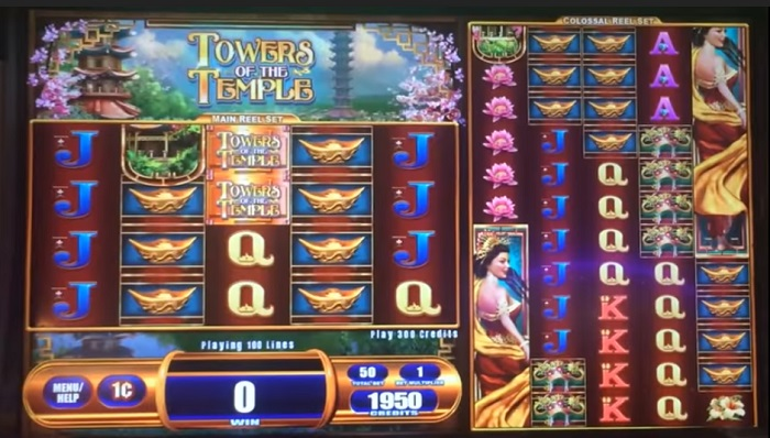 Towers of the Temple Online Slot