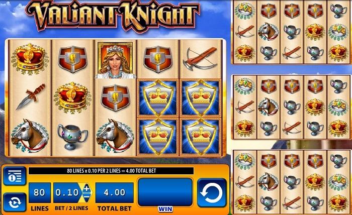 Valiant Knight Online Slot WMS