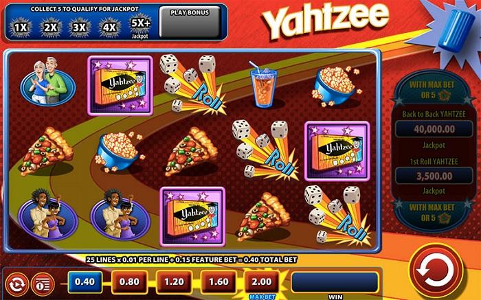Yahtzee Online Slot WMS