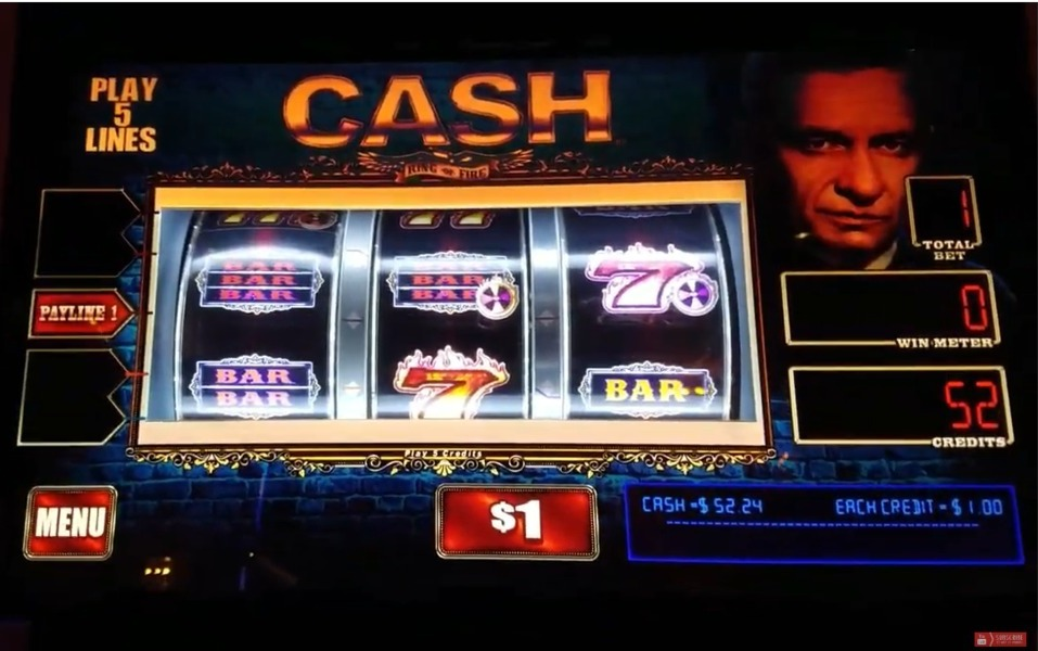 Johnny Cash Online Slot WMS