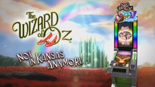 The Wizard of Oz Not in Kansas Anymore Slots