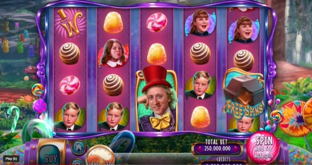 Willy Wonka Online Slot WMS