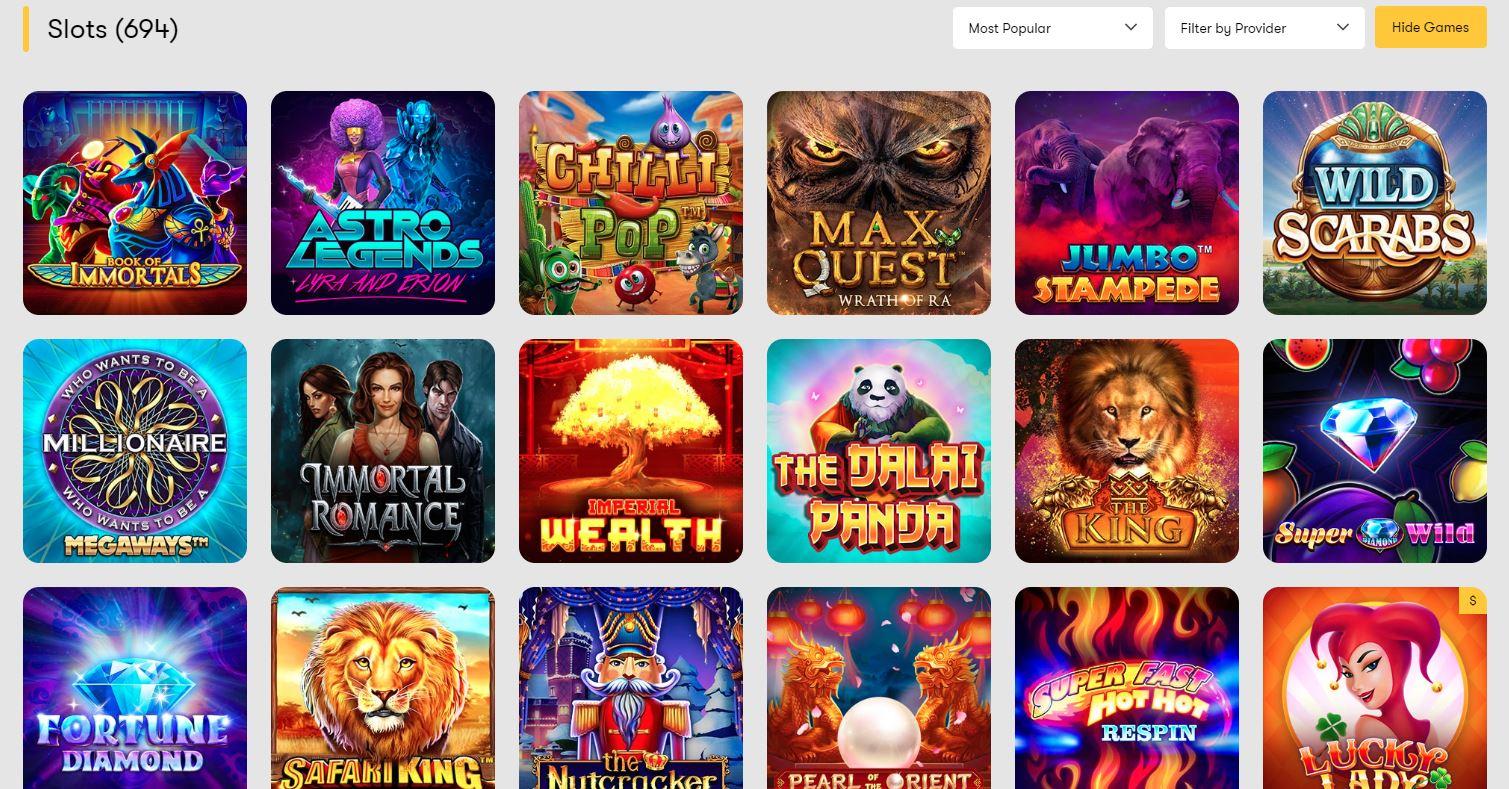 slots at 10Cric Casino