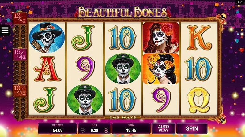 Beautiful Bones Online Slot