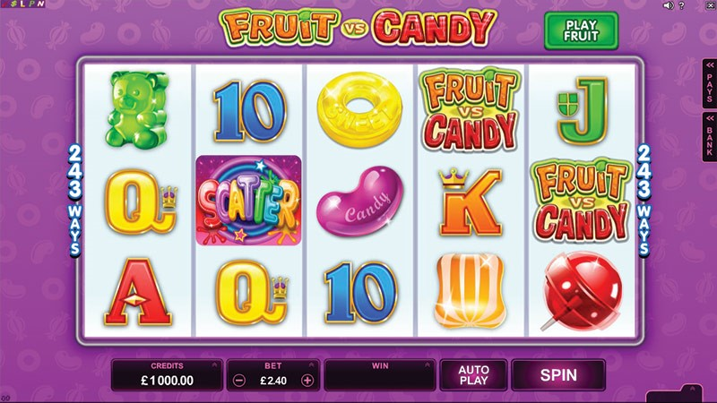 Fruit vs Candy Online Slot