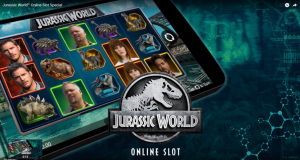 Jurassic World Online Slot Microgaming