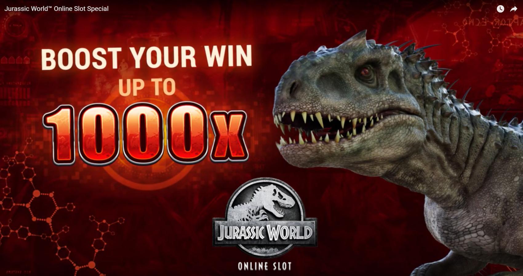 jurassic world slot review  top slots gambleonline