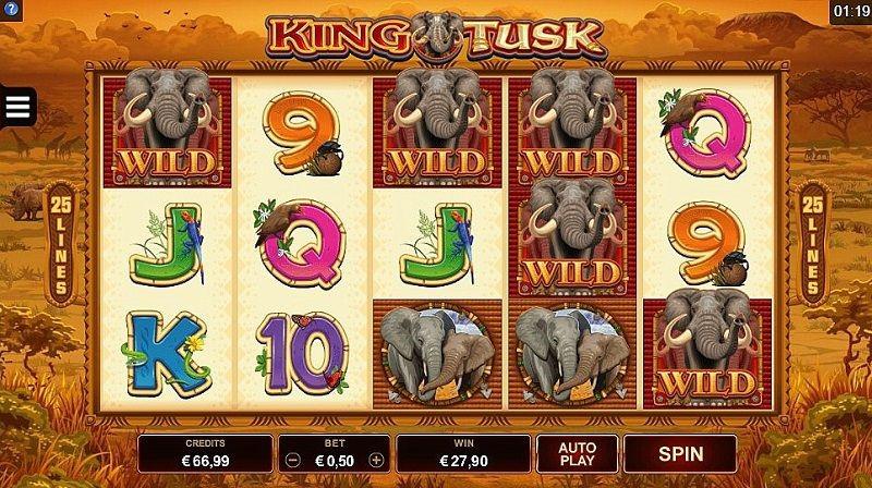 King Tusk Online Slot