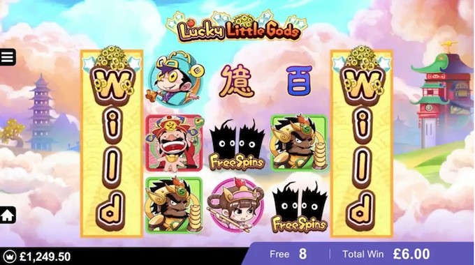 Lucky Little Gods Online Slot