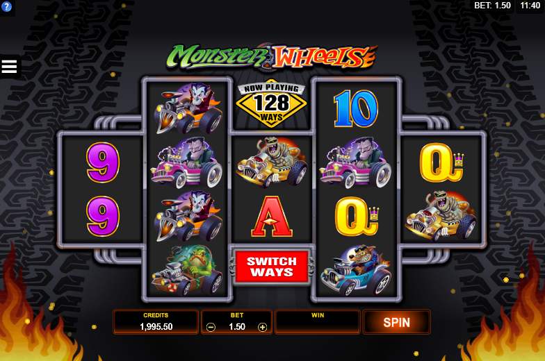 Monster Wheels Online Slot