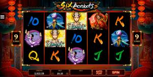Six Acrobats Online Slot