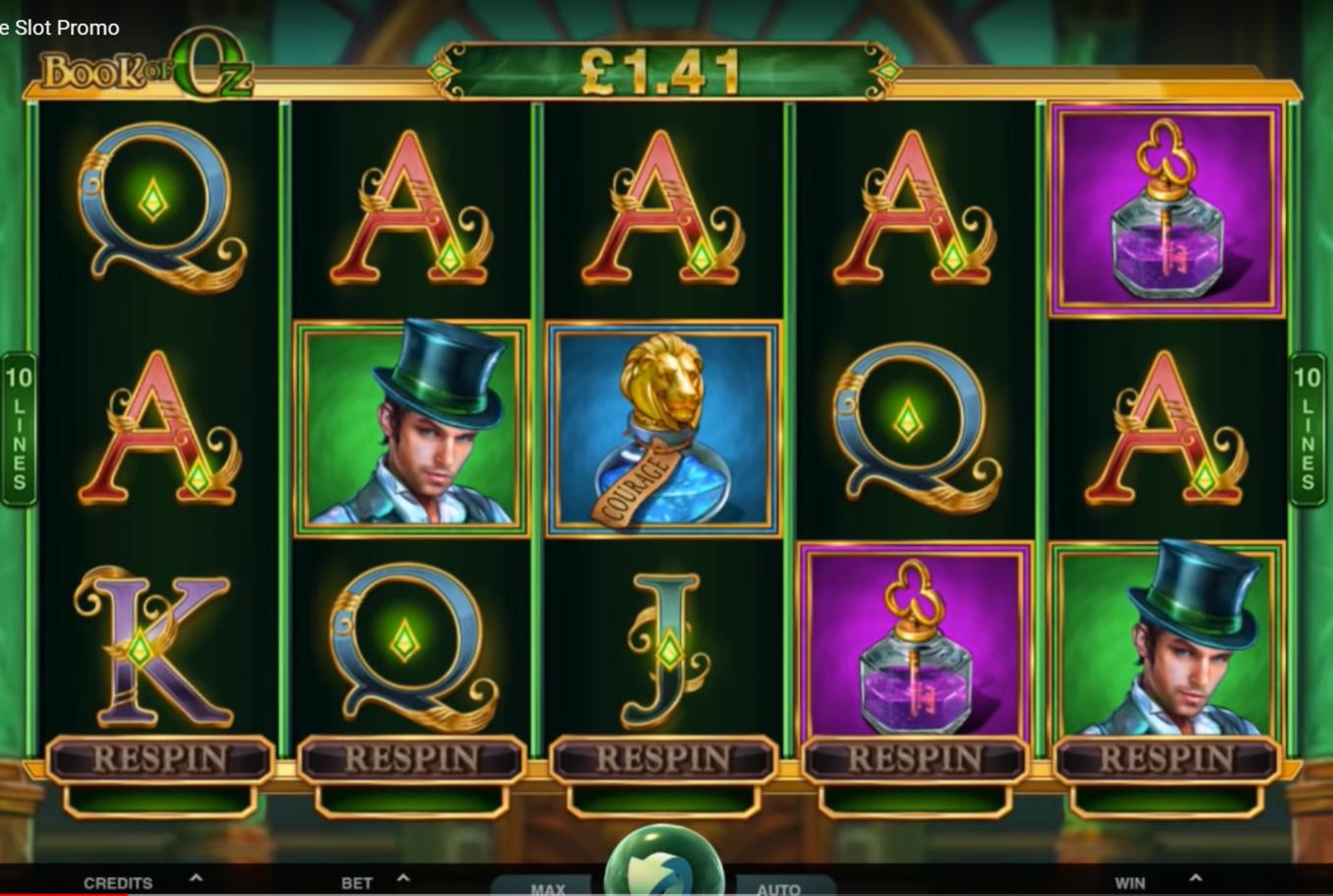 Dragon's Wild Fire Slot Machine
