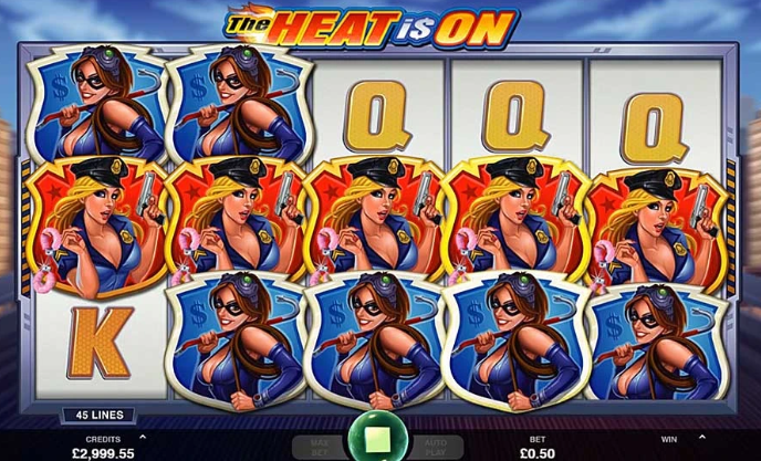 The Heat Is On Slots Microgaming
