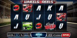 Wheels N Reels Slot Playtech