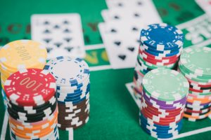 poker chip and cards on table, PokerStars 14th Sunday Million Winner online tournament