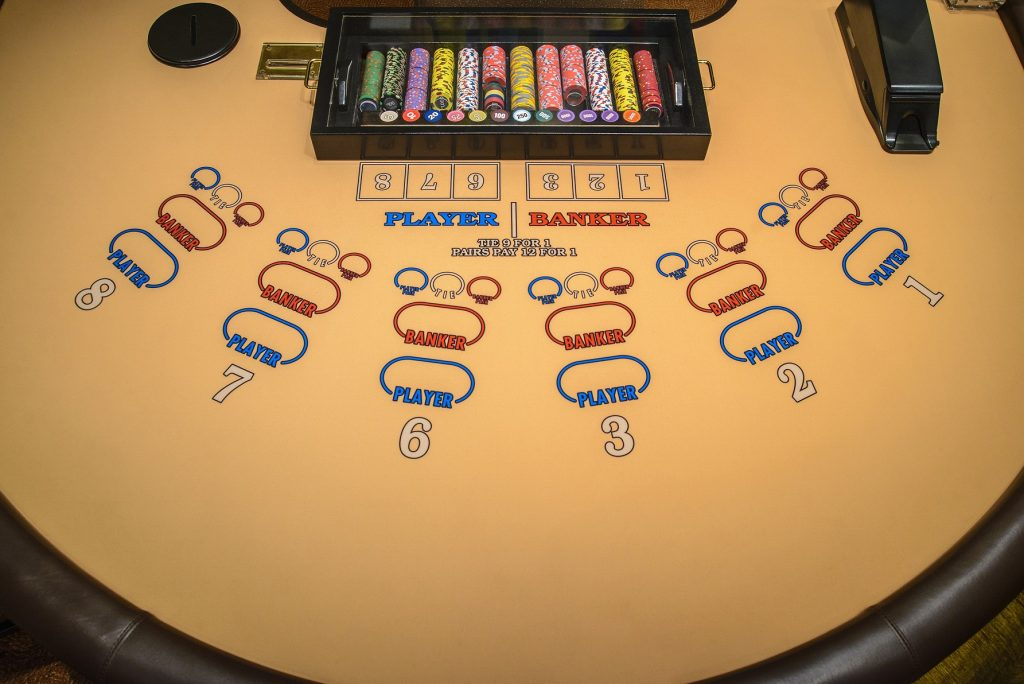 Baccarat table strategy