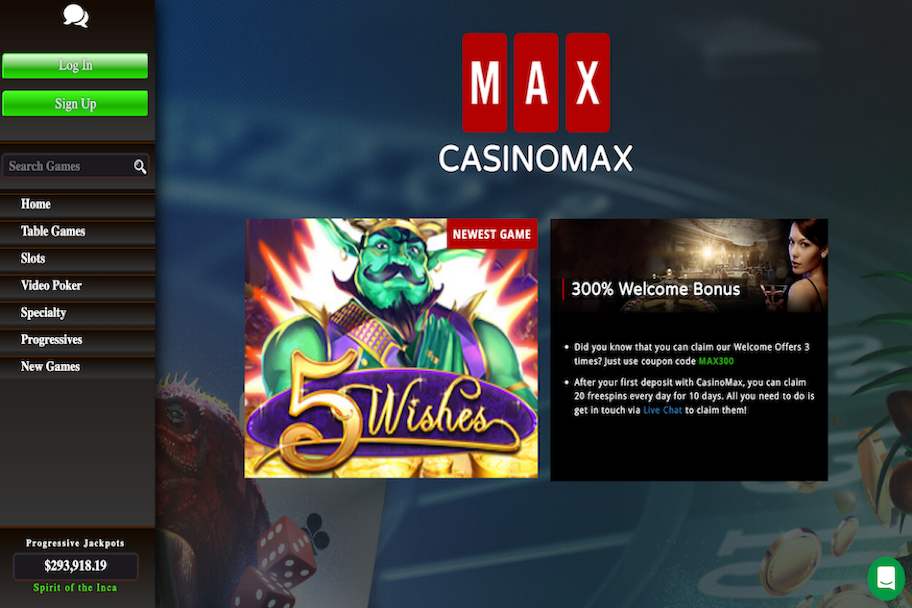 CasinoMax Casino Review
