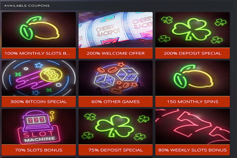 cherry jackpot casino review promotions