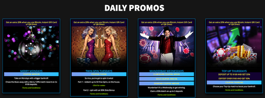 diamond reels casino review, daily promos