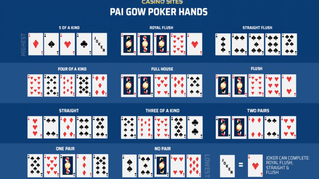 pai gow poker hands