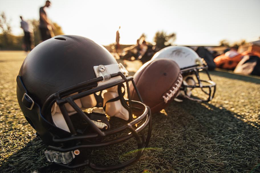 football helmets on field, 2020 NFL Draft Betting Props