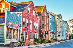 colourful houses in charlottetown pei, online gambling in pei