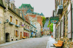 cobblestone streets in old quebec city, online gambling in Quebec