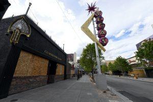 closed, shuttered las vegas casinos, casinos post massive loss