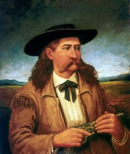 portrait of Wild Bill Hickok, top poker feuds