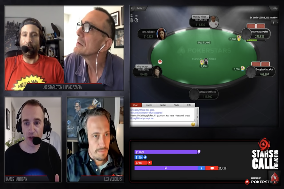 PokerStars tournament, pokerstars donated $1 million