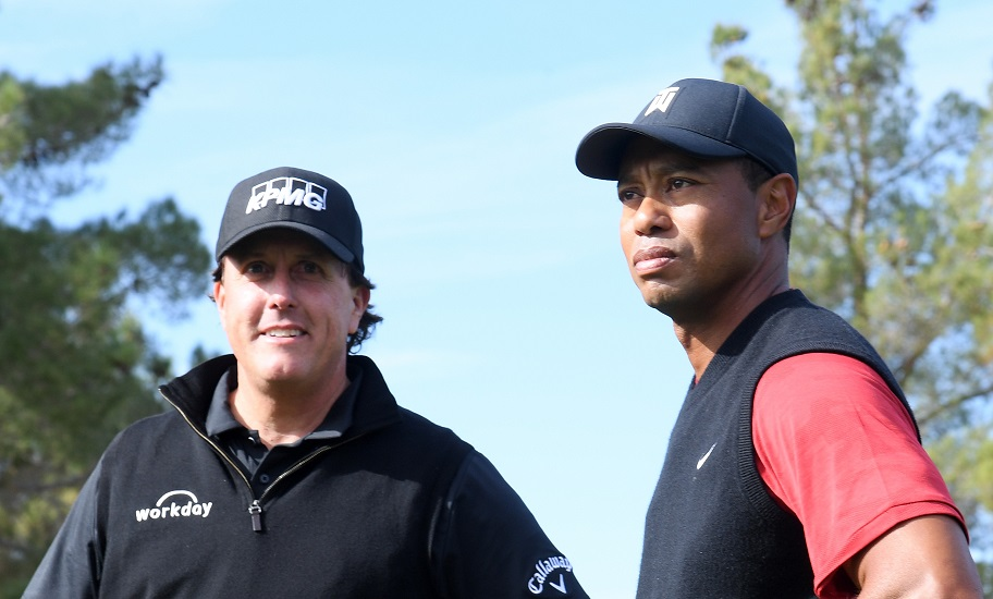 Tiger Woods, Phil Mickelson, The Match 2020