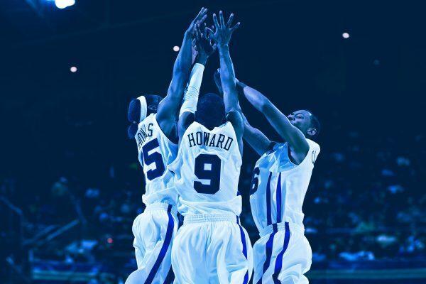 Basketball Betting - Players Celebrating