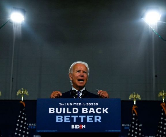 Biden Maintains 2020 U.S. Election Odds Lead Over Trump