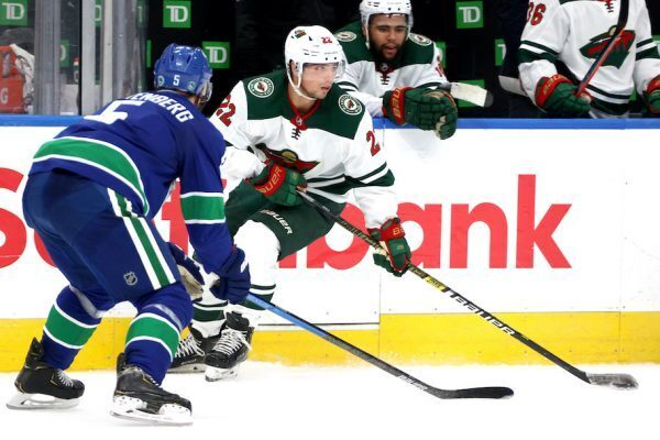 minnesota wild vs vancouver canucks during 2020 stanley cup qualifying round