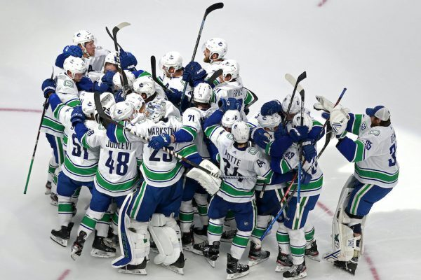 vancouver canucks beat the wild 2020 stanley cup qualifiers