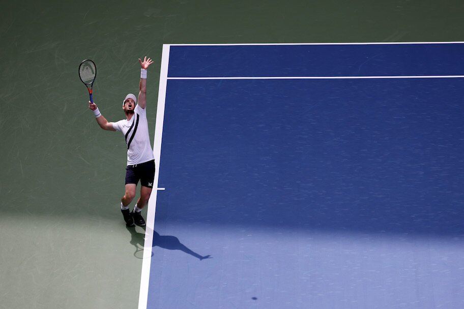 andy murray at 2020 nyc us open