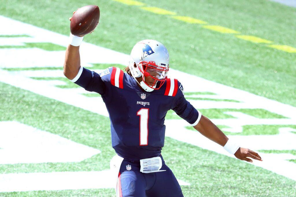 Cam Newton Patriots NFL