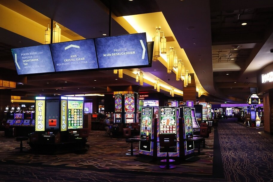 Virus Outbreak Michigan Casinos