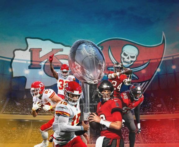 "Super Bowl 55: Chiefs remain 3-point ""road"" favorites over Bucs"