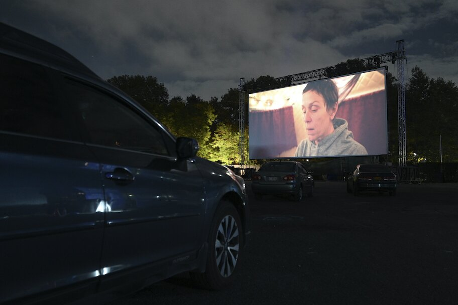 nomadland screening at drive in theatre