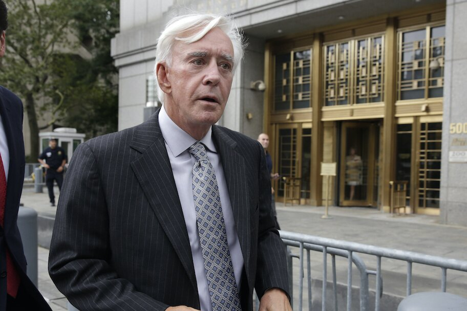 billy walters leaves court in nyc