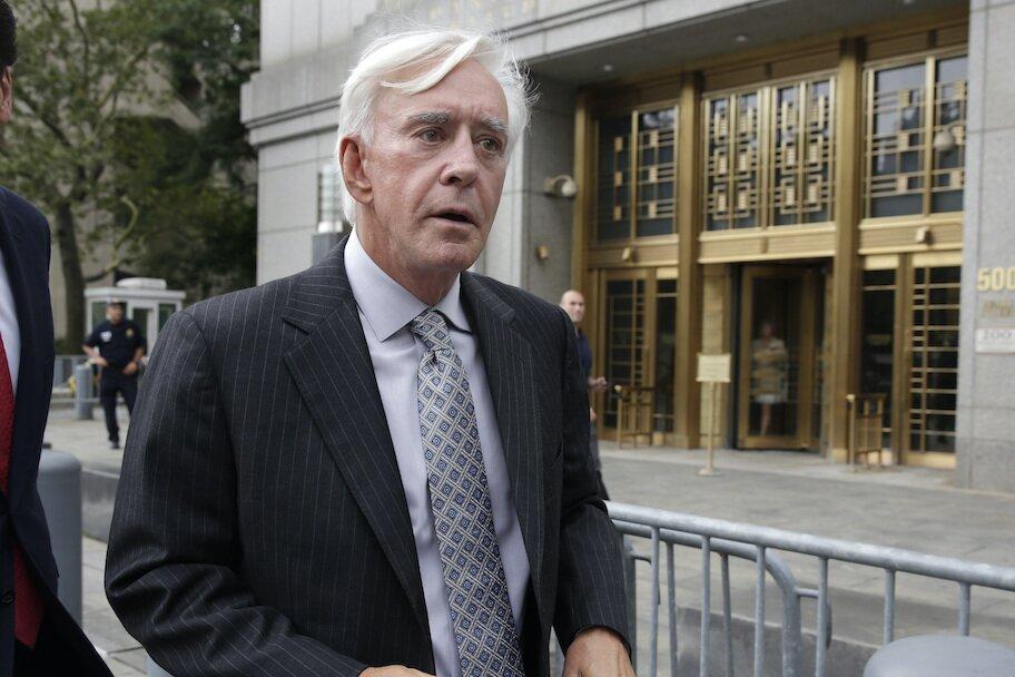 billy walters meninggalkan pengadilan di nyc