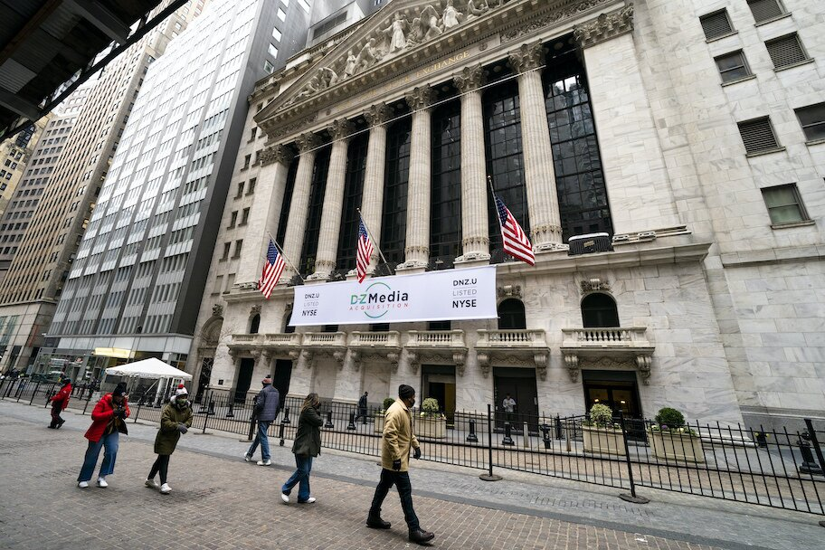 financial markets on wall street