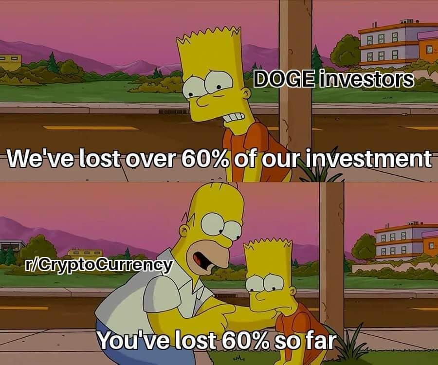 simpsons dogecoin cryptocurrency meme