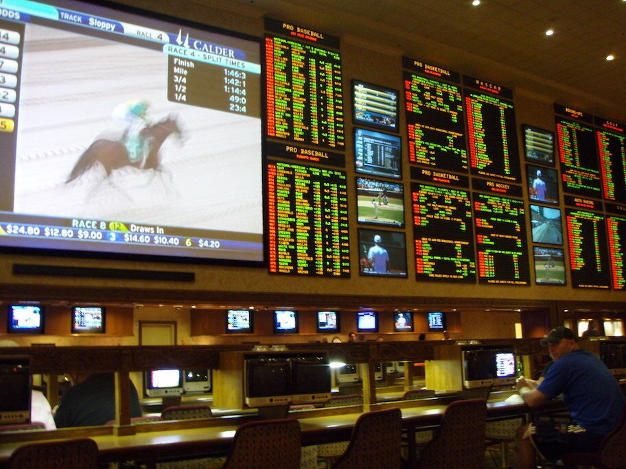 sports betting room