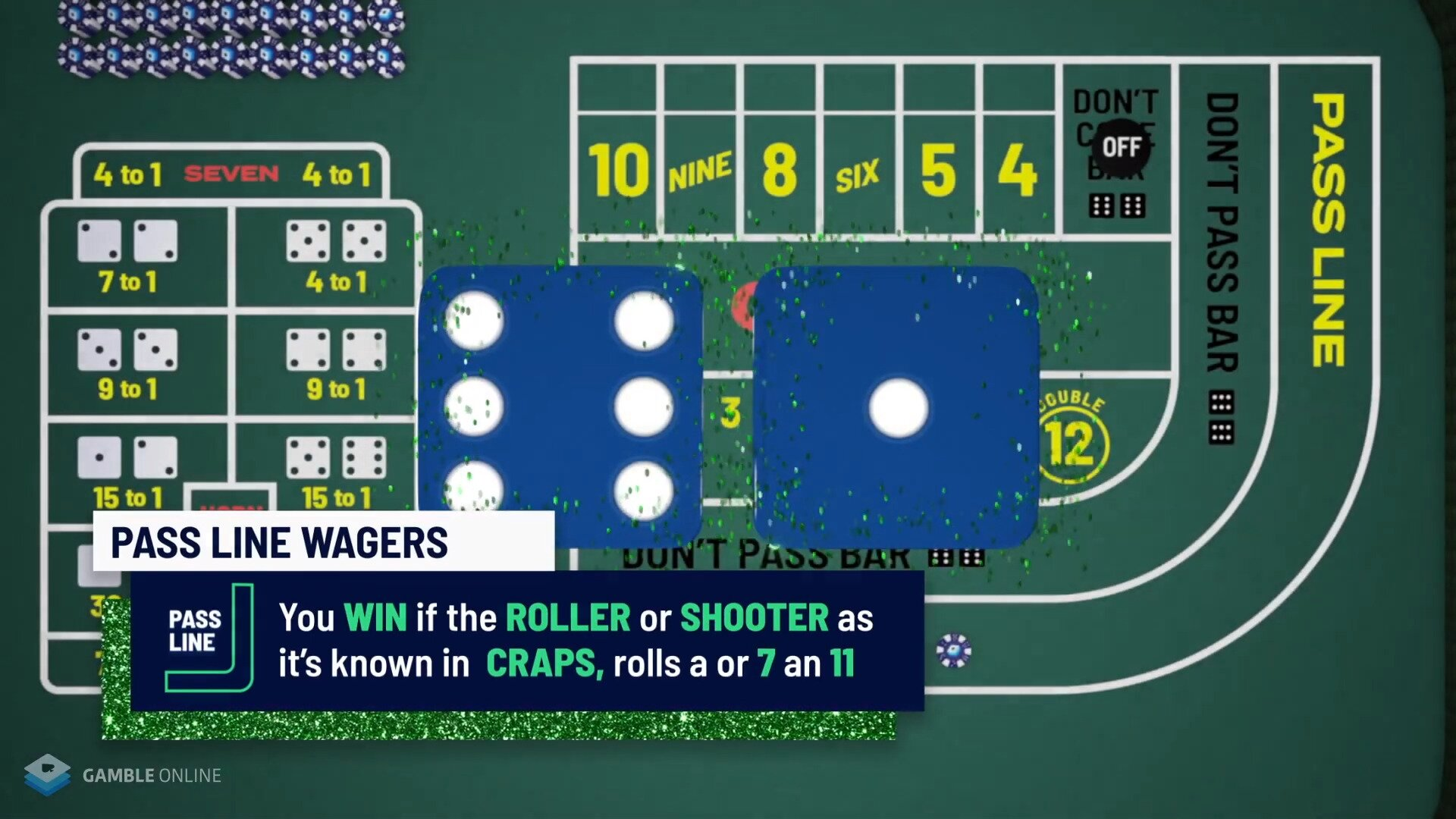 How to Play Craps Online _ Learn to Play Craps in Under 10 Minutes 2020 1-47 screenshot
