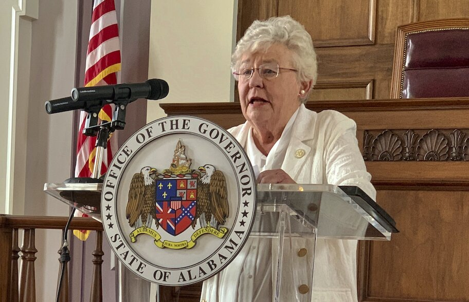 alabama governor kay ivey speaking