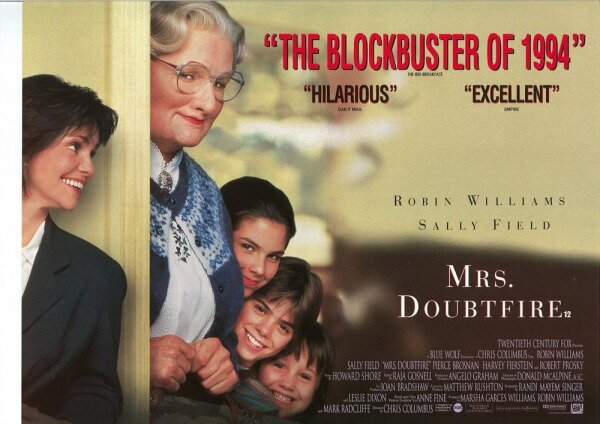 Mrs. Doubtfire Rated R NC 17 version odds