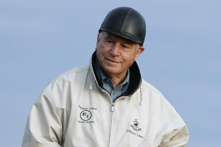 D. Wayne Lukas horse trainer